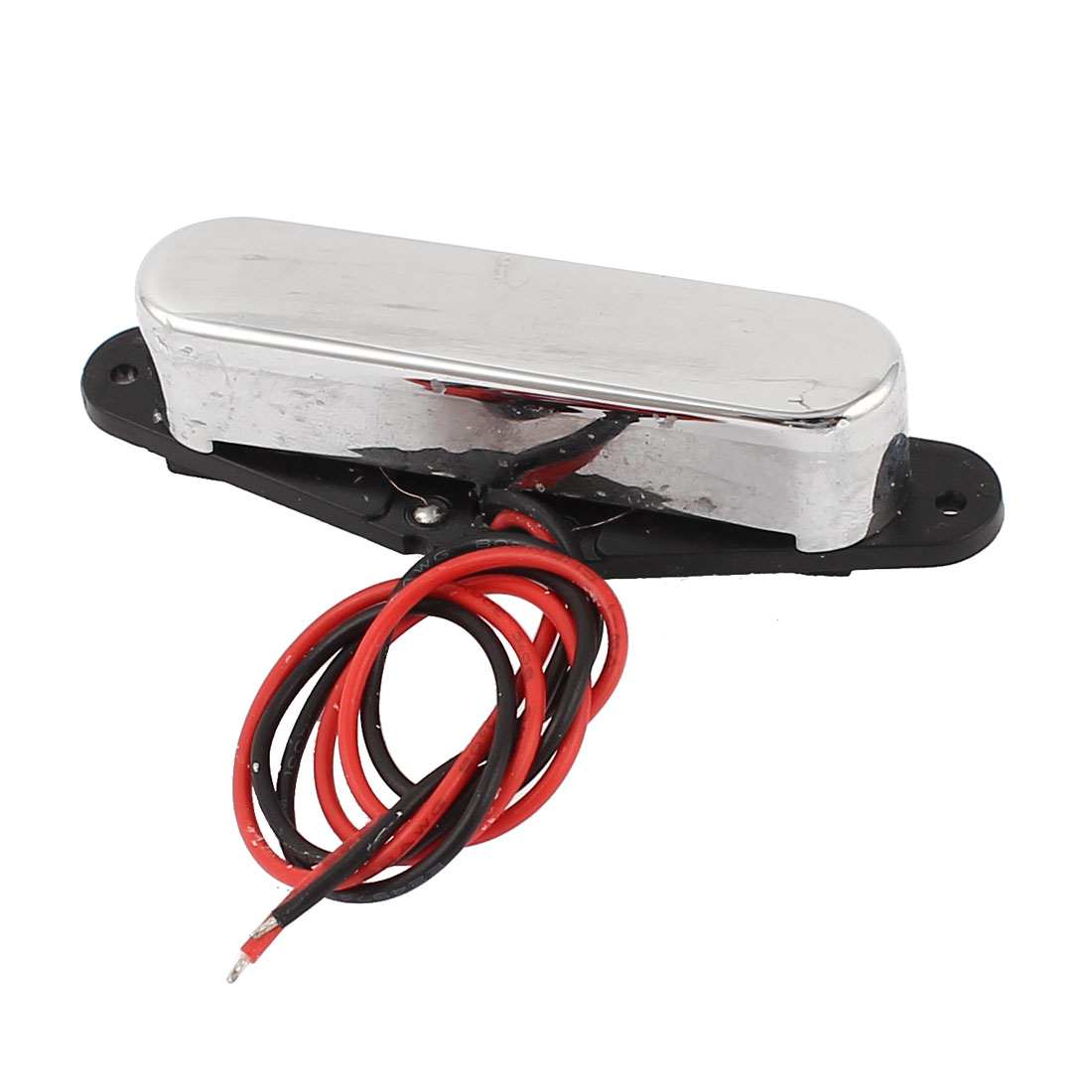 TL Magnetic Acoustic Electric Guitar Pickup Audio Transducer Silver Tone