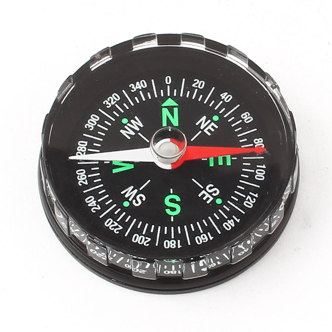 "1.8"" Dia Round Dial Portable Sensitive Compass for Outdoor Hiking Camping"