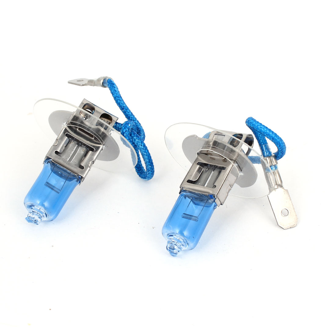 Pair H3 100W White HOD Halogen DRL Driving Lamp Fog Light Bulb for Auto Car