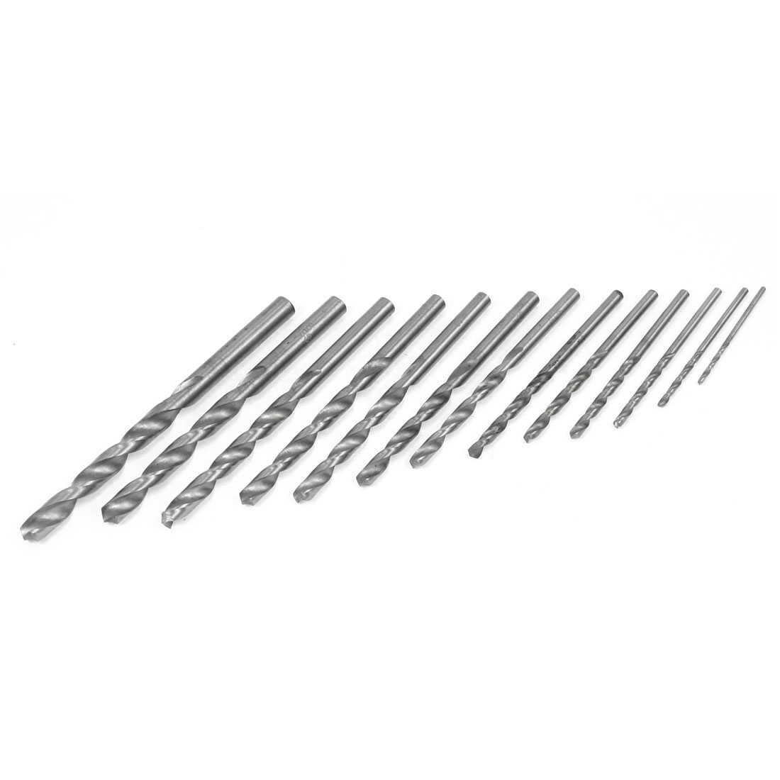 Iron Drilling Size High Speed Steel HSS Twist Drill Bit 13 in 1 Kit
