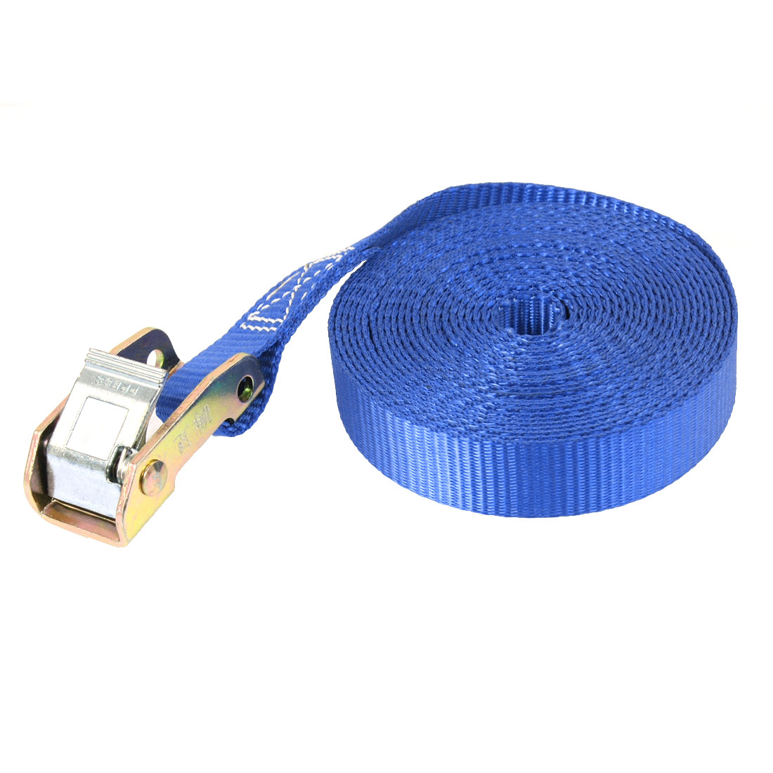Journey Luggage Binding Metal Cam Buckle Tie Down Strap 5M 16ft Blue