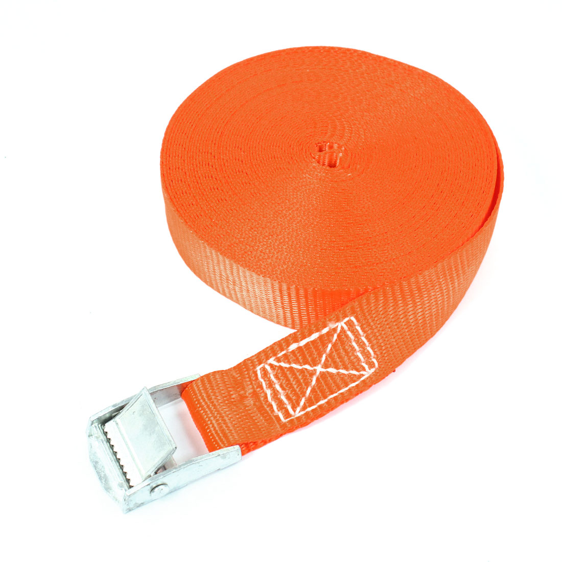 Travel Metal Cam Buckle Cargo Binding Band Tie Down Strap 10M 33ft Orange
