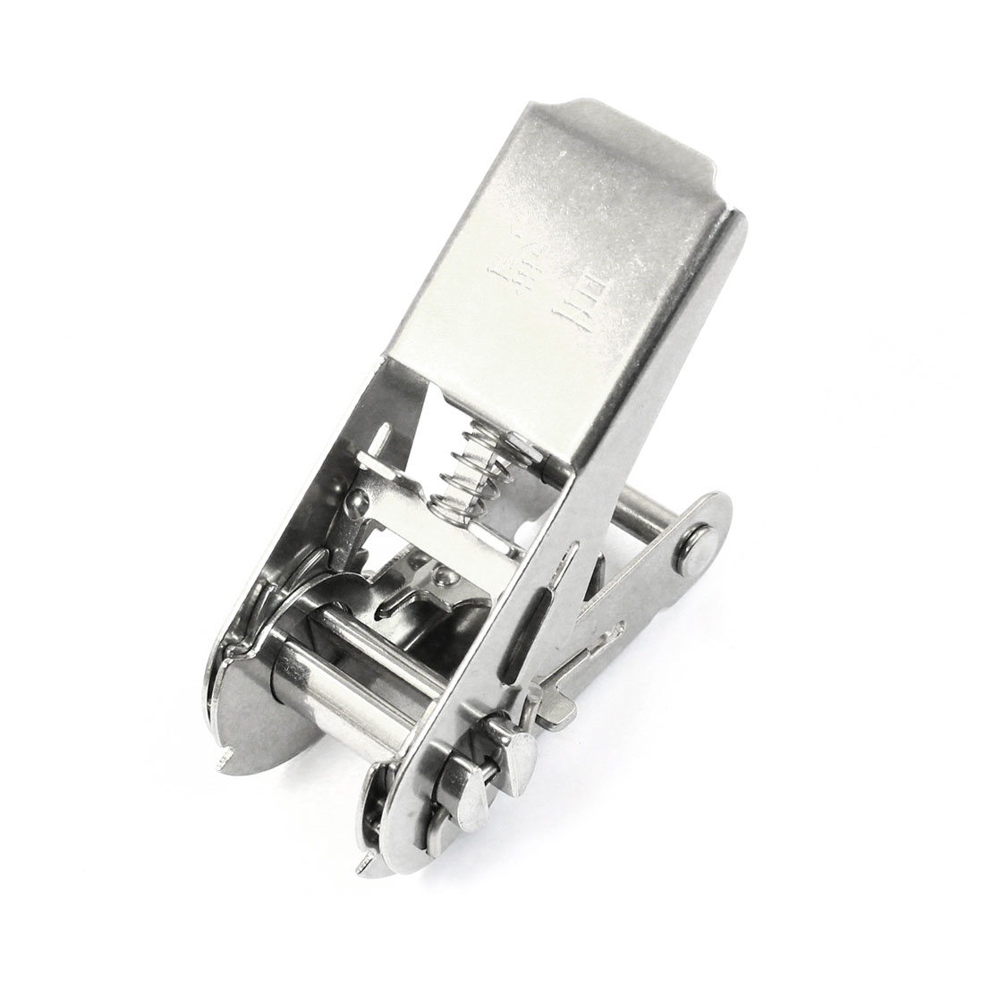 Silver Gray Metal Ratchet Buckle for 25mm Width Tie Down Strap