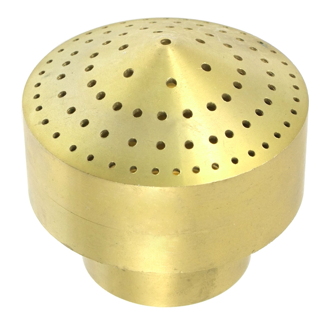 Gardening Fountain 45mm Female Thread Dia Water Spray Sprinkler Nozzle Brass Tone
