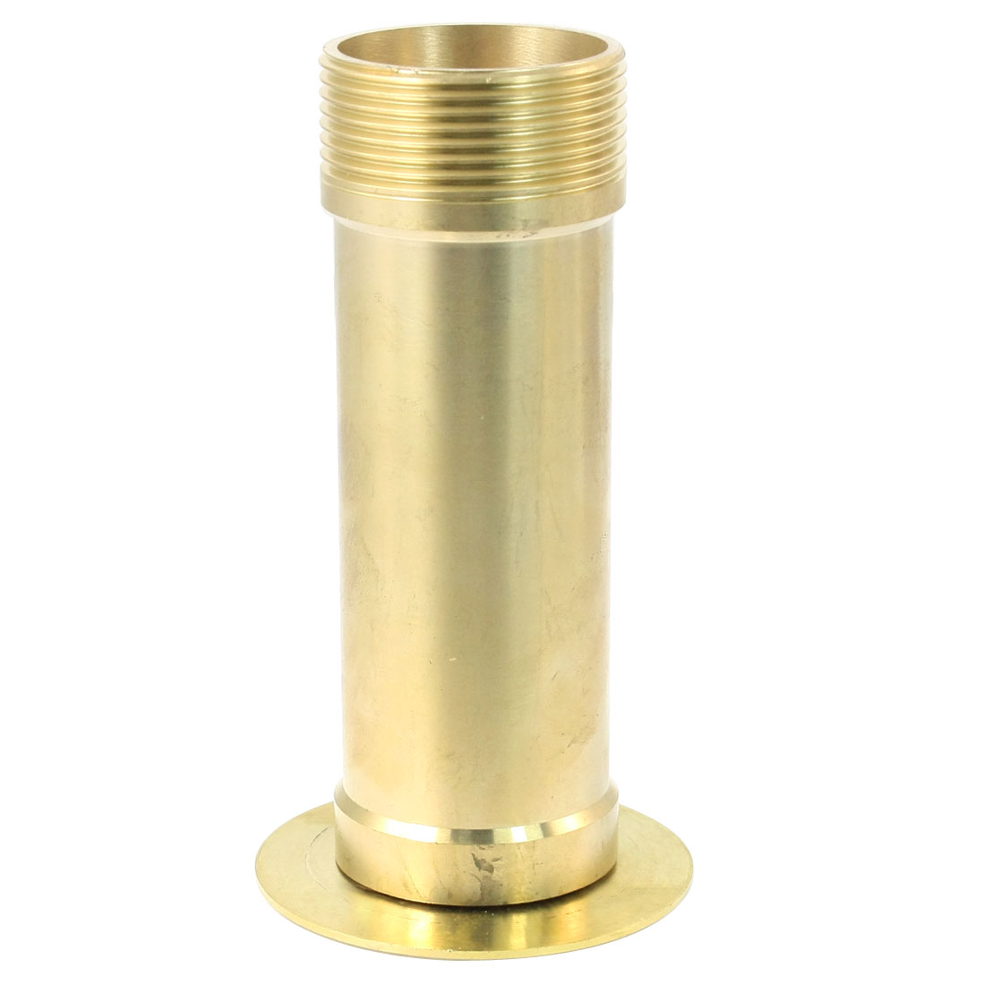 Garden Fountain 46mm Male Thread Dia Waterfall Water Spray Nozzle Brass Tone