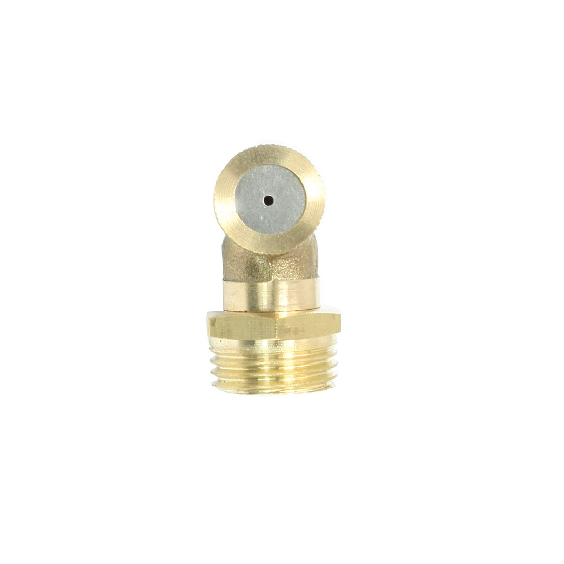 Gardening 20mm Male Thread Dia Irrigation Spray Nozzle Brass Tone
