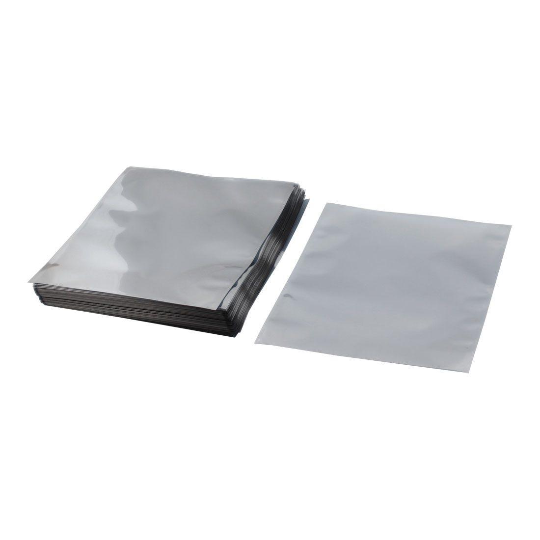 100 Pcs 21x24cm Rectangle Open Top Plastic Anti Static Antistatic Shielding Bags Packagings Holders for Electronic Components