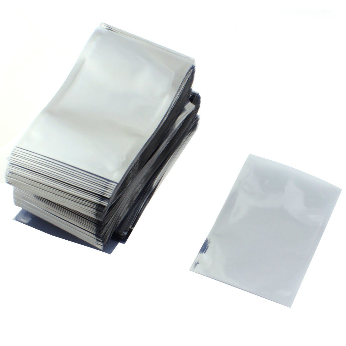 PCB Board Open Top Plastic Shielding Anti Static Bag Holder Protector Packagings 8x12cm 500PCS