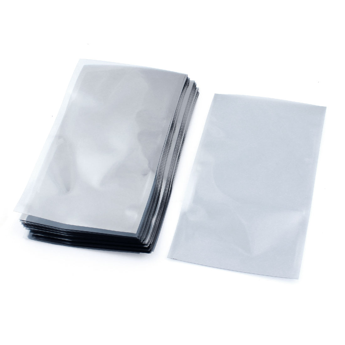 100 Pcs 12cmx20cm Open Top Rectangle Plastic Anti-static Anti Static Shielding Bags Packagings for Electronic Components