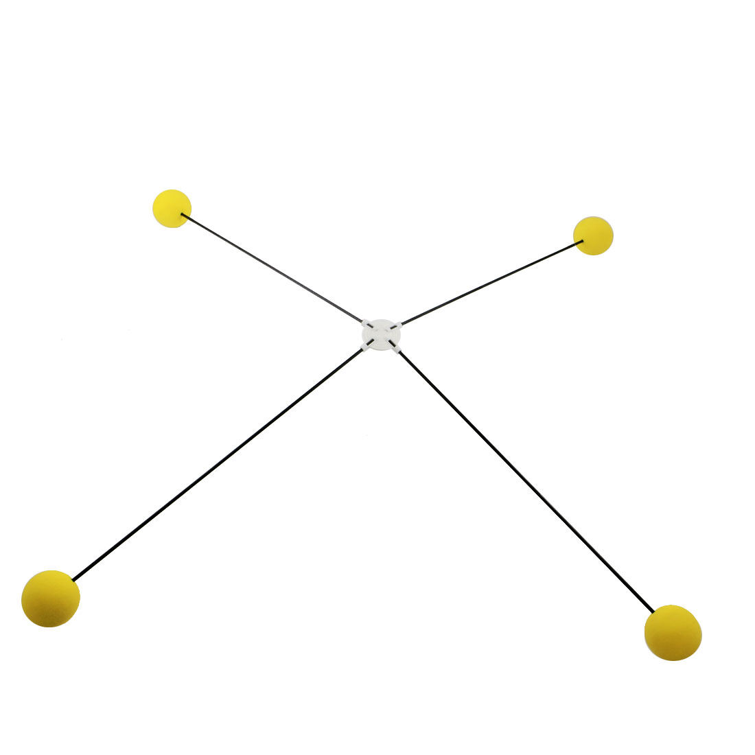 RC Remote Control Spare Parts Yellow Ball Landing Training Legs Kit for 450 Electric Helicopters