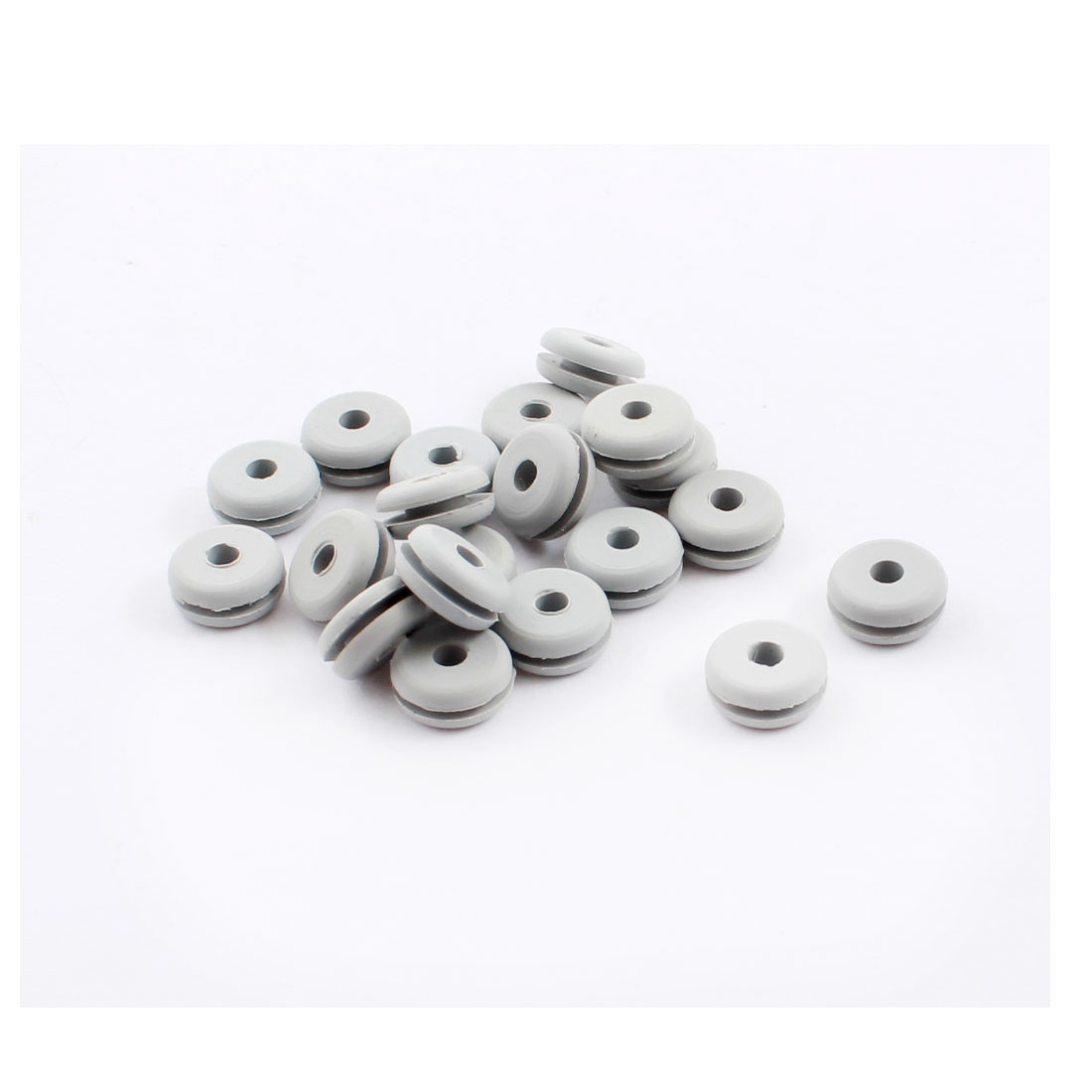 20Pcs RC Spare Parts Canopy Rubber Grommet 2.7x5x9.5x4.2mm for 500 Size Helicopter