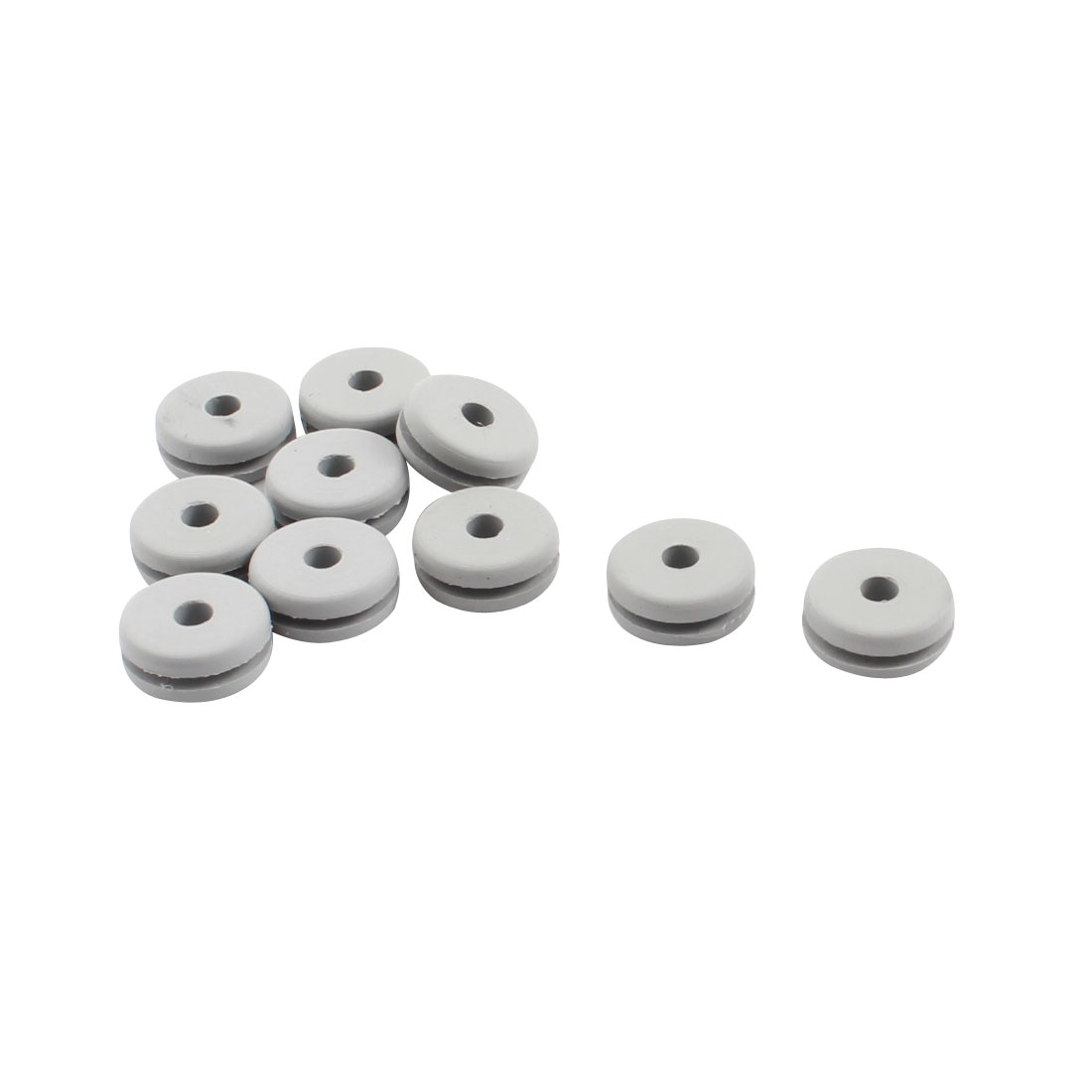 10Pcs RC Spare Parts Canopy Rubber Grommet 2.8x5.5x11x4.5mm for 600 Size Helicopter
