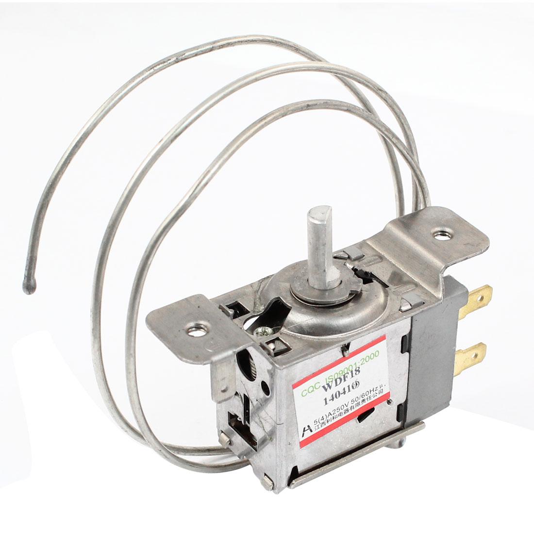 WDF18 3 Terminals Refrigerator Refrigeration Thermostat w 61cm Metal Cord