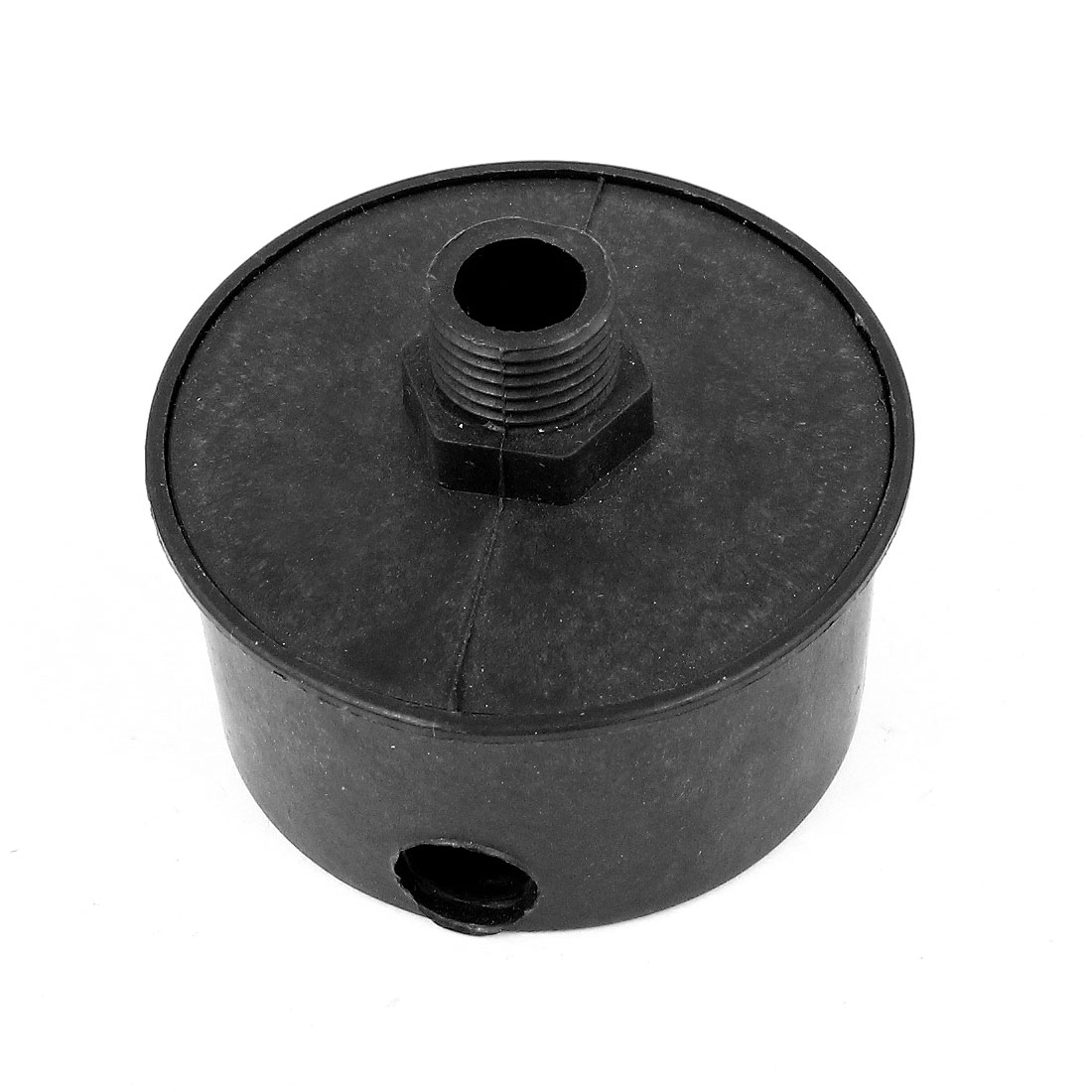 Black Plastic Housing 3/8PT Air Compressor Intake Filter Silencer