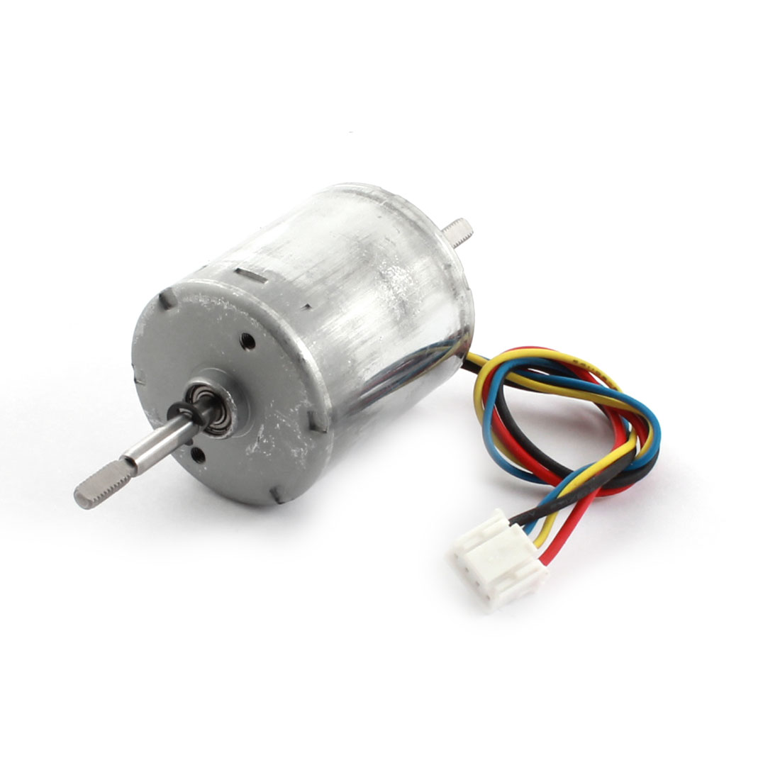 12V 0.16A 2400RPM High Speed D Shaped Double-shaft Micro DC Brushless Motor w JST-XH Plug for RC Toy