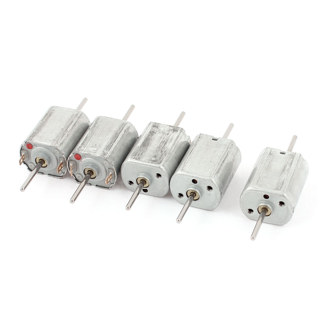 5pcs 12V 13500 RPM Speed 1.5mm Shaft Doublel Axle Cylinder Magnetic Mini Electric DC Motor for DIY Toy