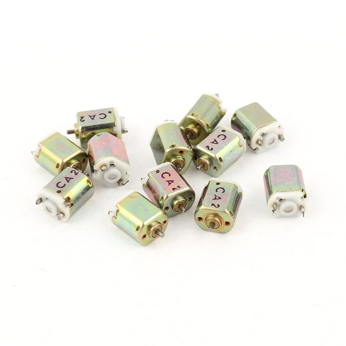 12 Pcs DC 1.5V 0.05A Brushless 2-Wires Mini Motor 20000RMP 6.5x8mm