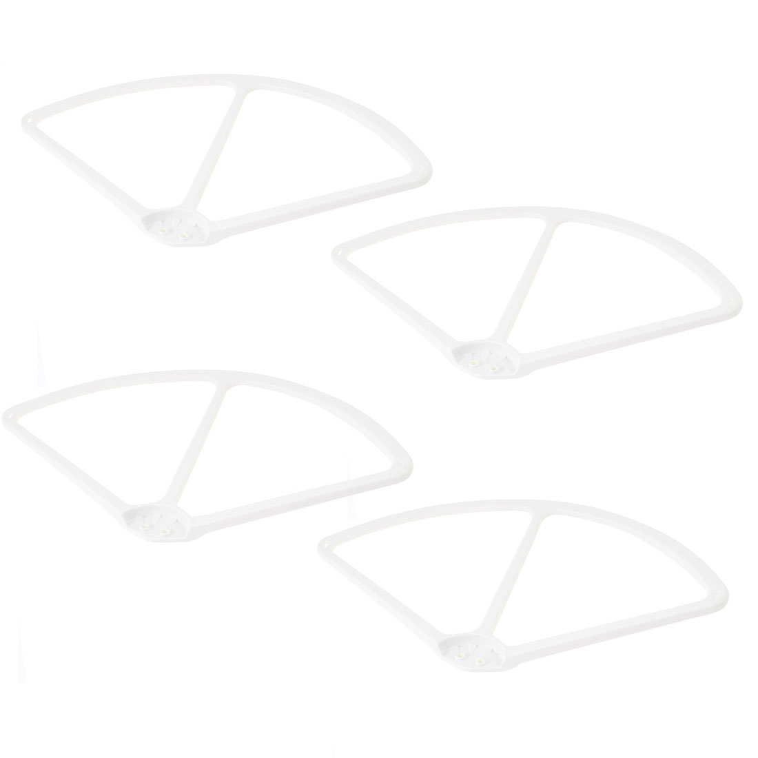 "4 Pcs White Plastic Propeller Prop Protective Guard Bumper 9"" for DJI Phantom 2 Vision Quadcopter"