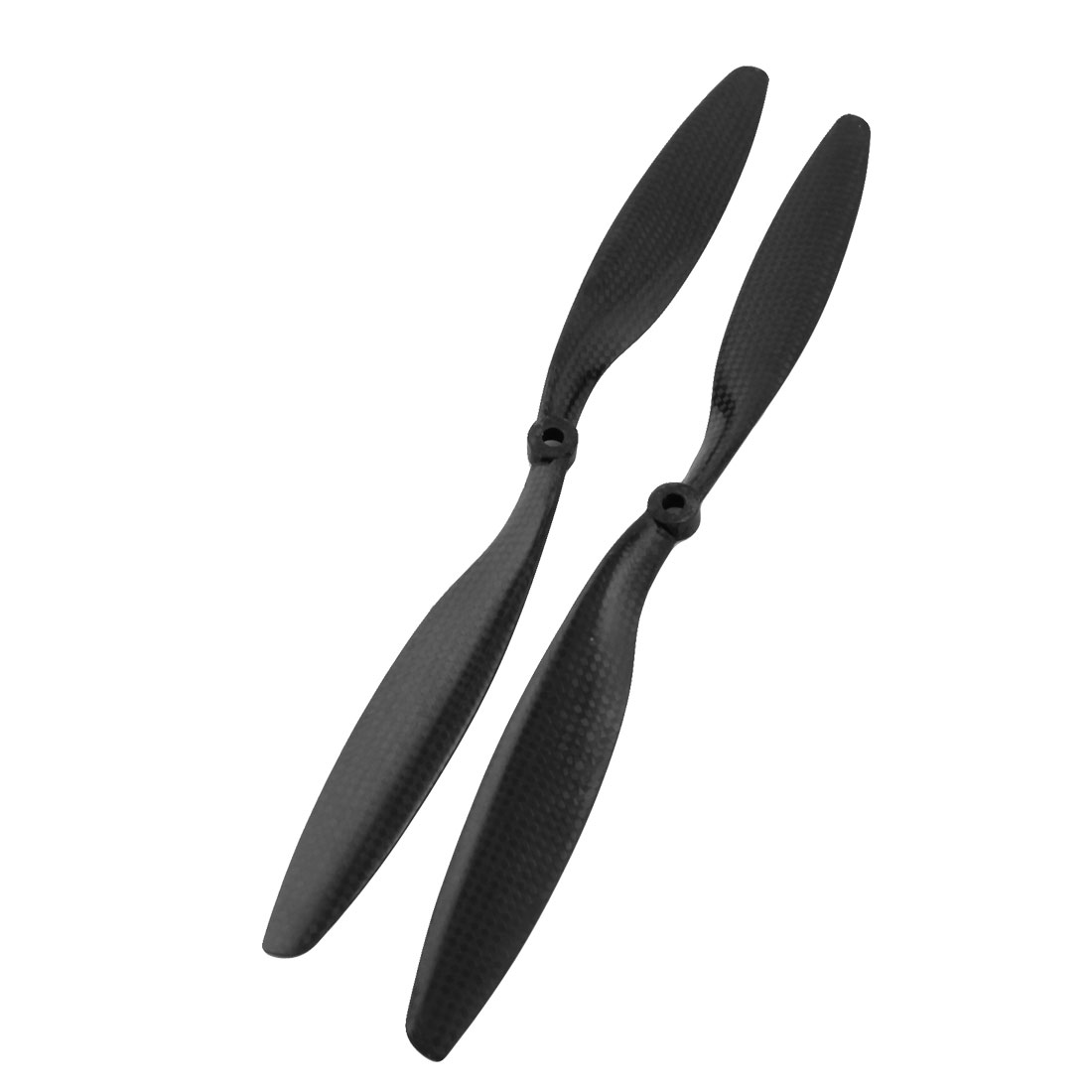 Pair 1245 12x4.5 2-Vane Carbon Fiber CW/CCW Rotating Prop Propeller for RC Quadcopter Hexacopter