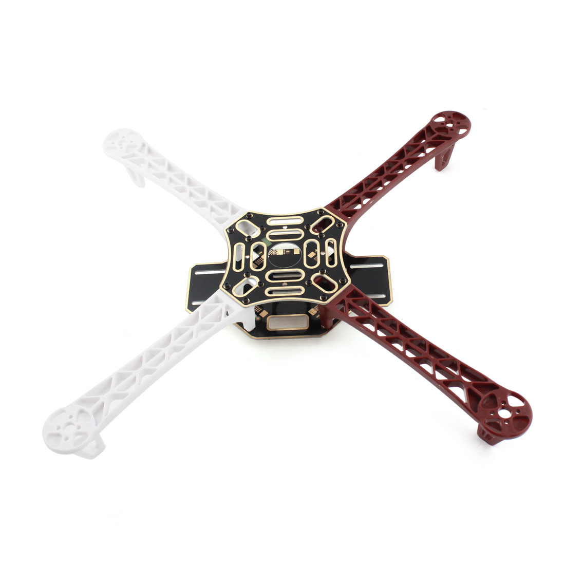 Replacement White Red RC Quad Mini Integrated PCB Frame Arm Kit for DJI Phantom F450