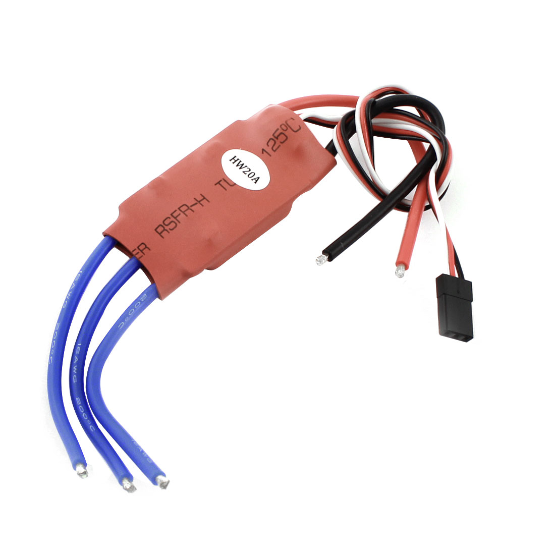 XXD HW20A 20A Red Electric Brushless Motor Speed Controller ESC for Multicopter