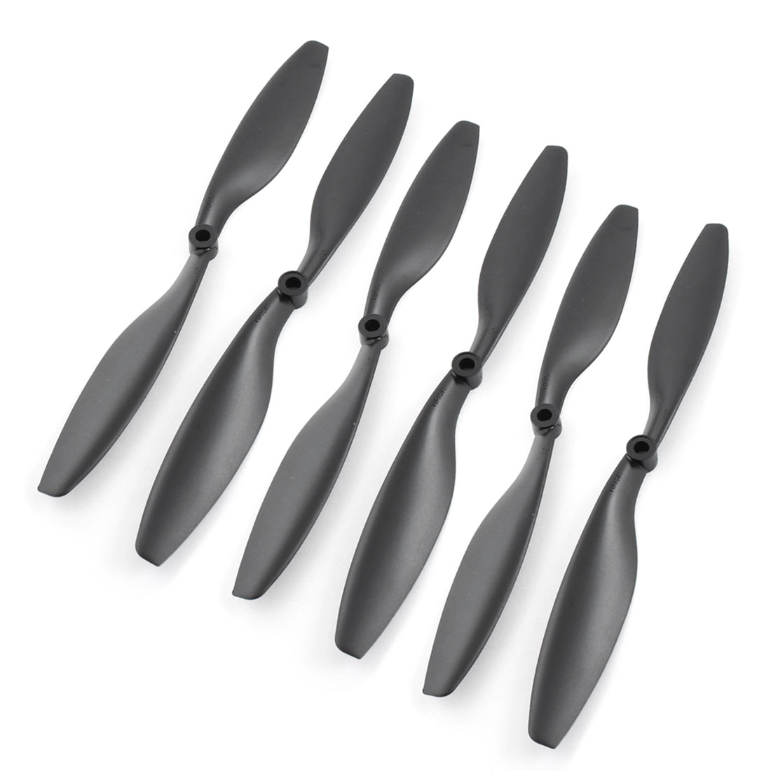 3 Pairs 1045 10x4.5 Black Plastic CW/CCW Prop for RC Quadcopter Hexacopter