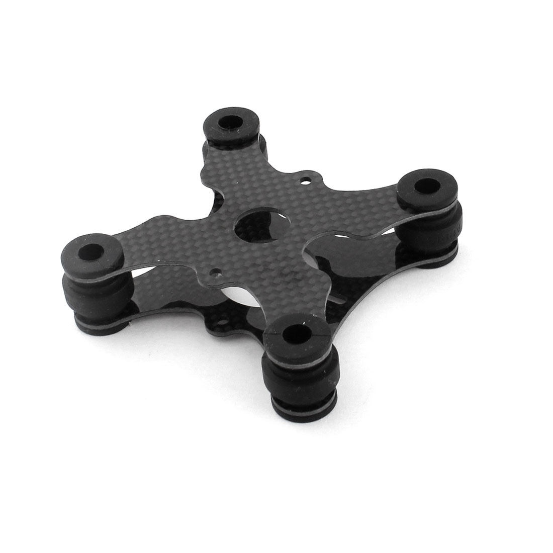 3K Carbon Fiber Flight Controller Anti-vibration Damper Plate Black for RC DJI Phantom