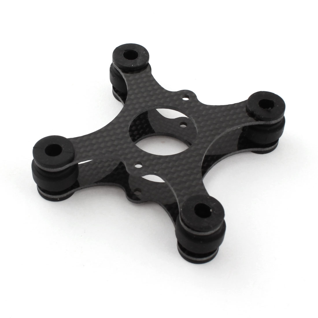 3K Carbon Fiber Anti Vibration Shock Absorber Damper Plate Board Mount for Walkera QR X350 GOPRO RC Quadcopter