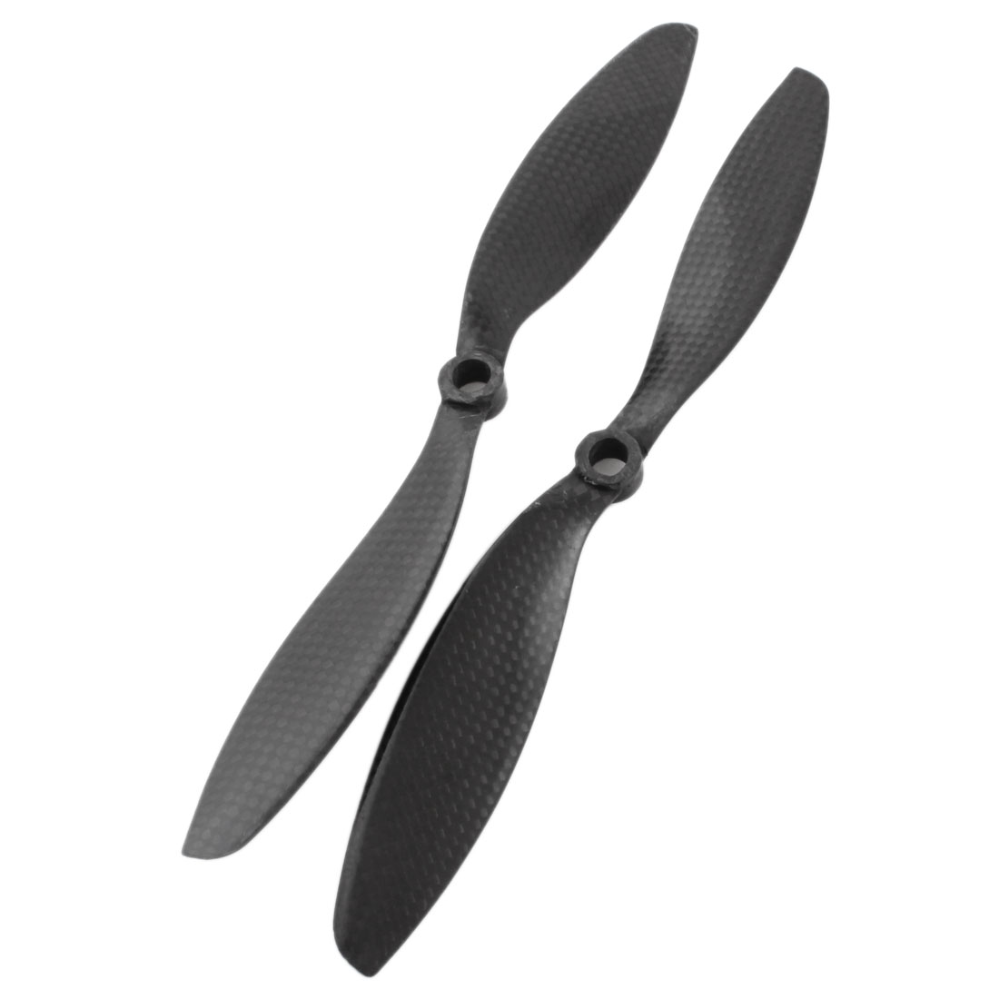 Pair 9047 9x4.7 2-Vane Carbon Fiber CW/CCW Prop for 8mm Shaft RC DJI Phantom Multicopter
