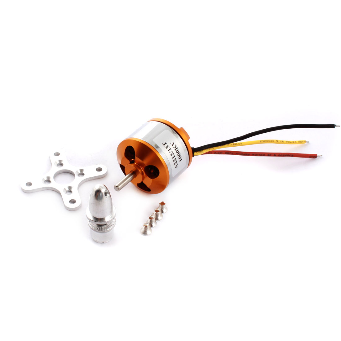 XXD2212 KV1000 13 Teeth 3-Wired Brushless Motor Replacement for RC Hexacopter Quadcopter
