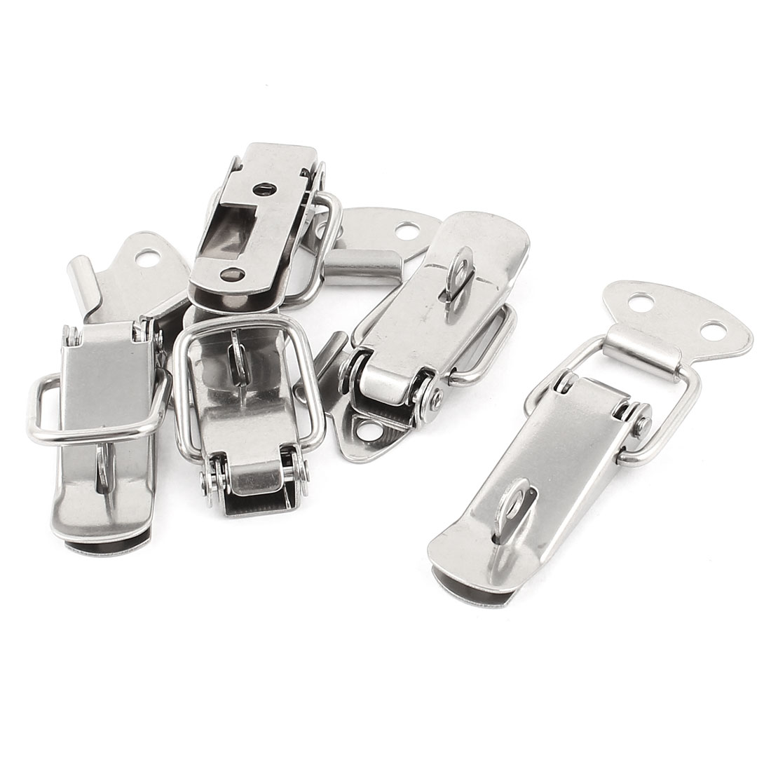 5 Pcs Steel Spring Draw Toggle Latch Catch for Cases Boxes Chests