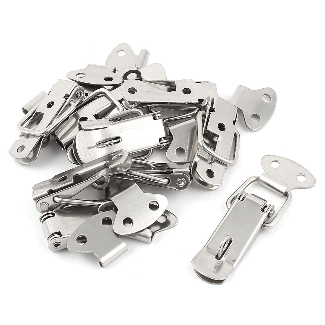 10 Pcs Steel Spring Draw Toggle Latch Catch for Cases Boxes Chests