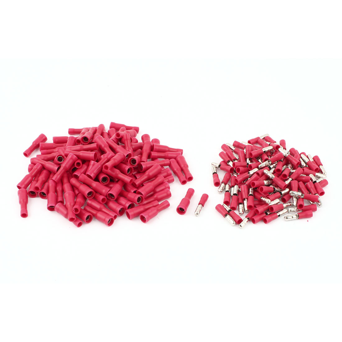 100 Pair 22-16 AWG Cable Wire Connector Male Female Crimp Terminals