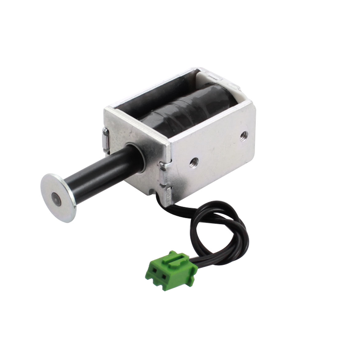 15V 0.68A 10.22W 3mm 100g 50% Push Pull Type Open Frame Linear Motion DC Solenoid Electromagnet Actuator