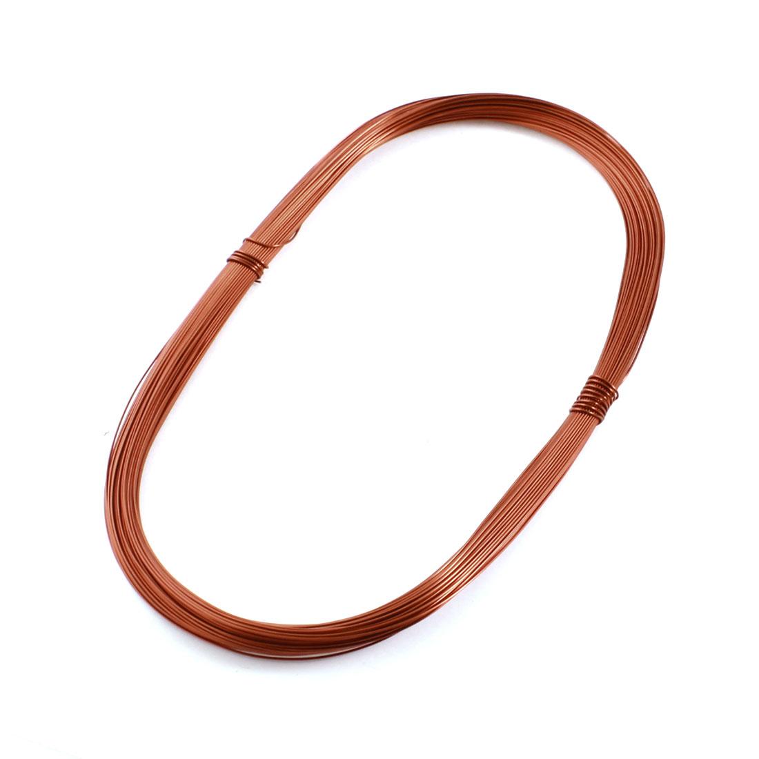 0.64mm Diameter Copper Solder Soldering Enamelled Winding Wire 50m 164ft Length