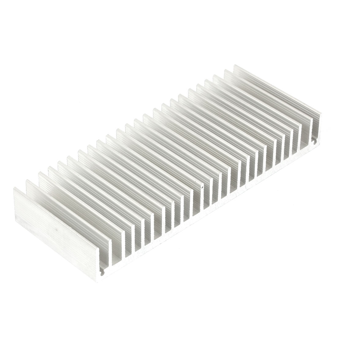 Silver White 150mmx60mmx20mm LED Heat Sink Aluminum Cooling Fin