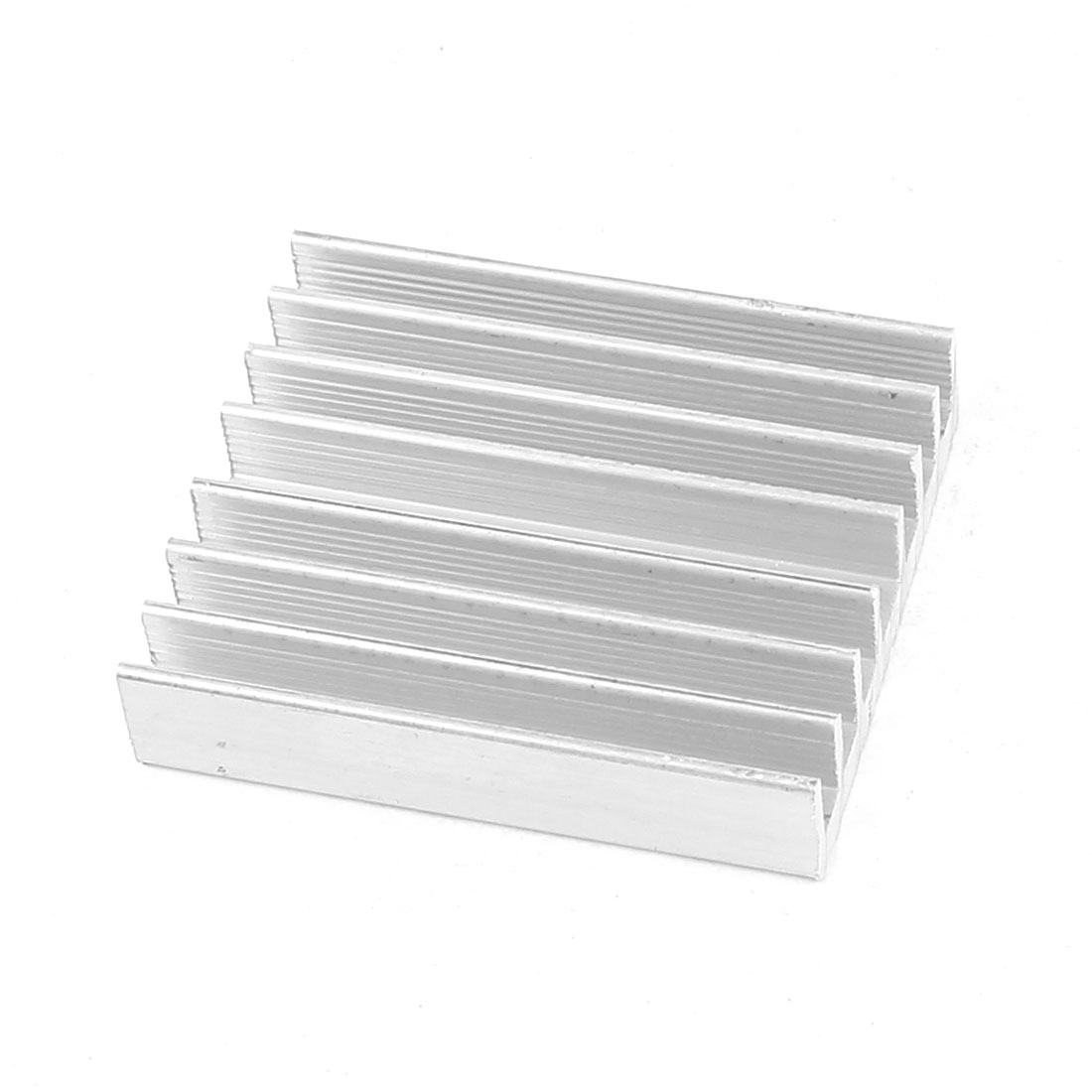 Rectangle 52mm x 43mm x 10mm LED Lamp Heatsink Aluminium Cooling Fin