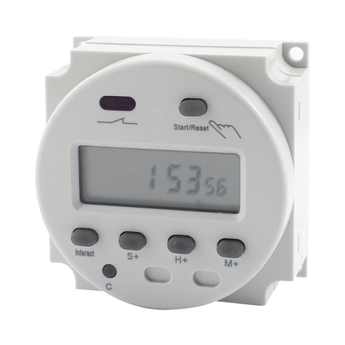 Mini CN102 AC/DC 12V LCD Digit Display Programmable Countdown Timer Control Time Switch
