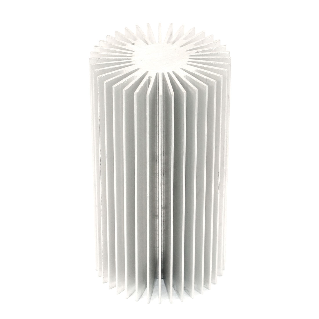 55mm x 100mm Cylinder 10W High Power LED Heatsink Aluminium Cooling Fin