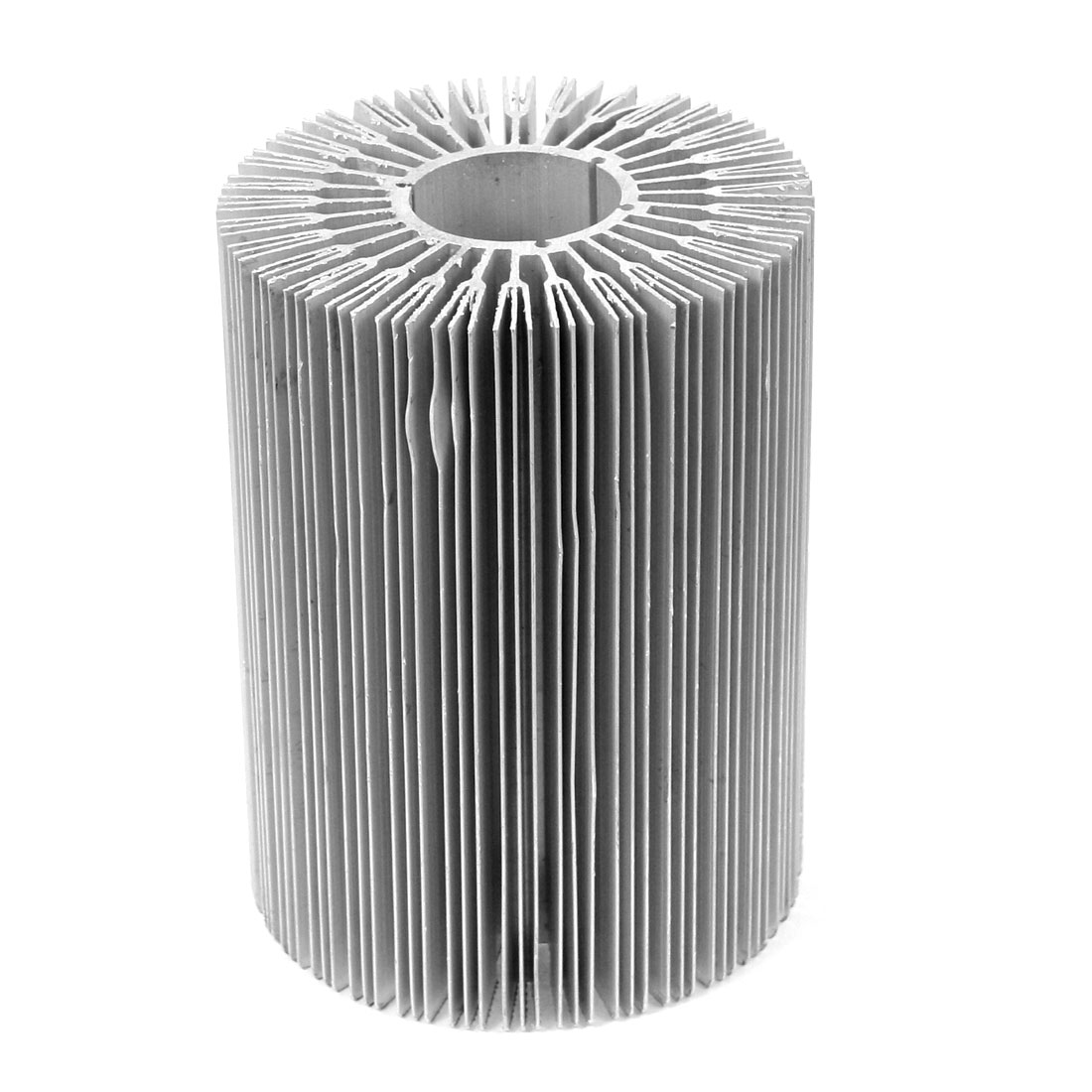 90mm x 120mm Cylinder 40W-50W High Power LED Heatsink Aluminium Cooling Fin
