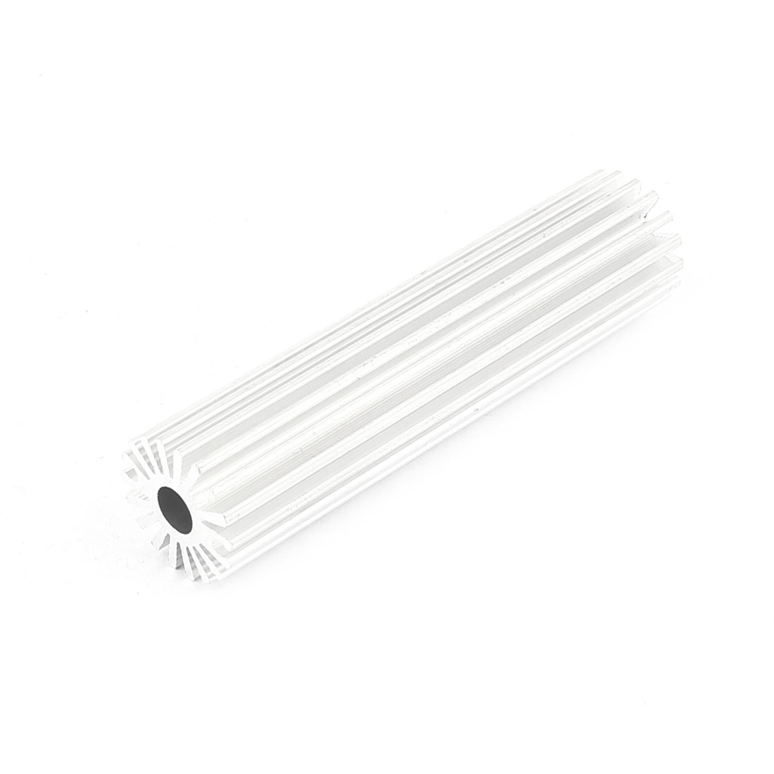 19.5mm x 80mm Cylinder 3W Power LED Heatsink Aluminium Cooling Fin