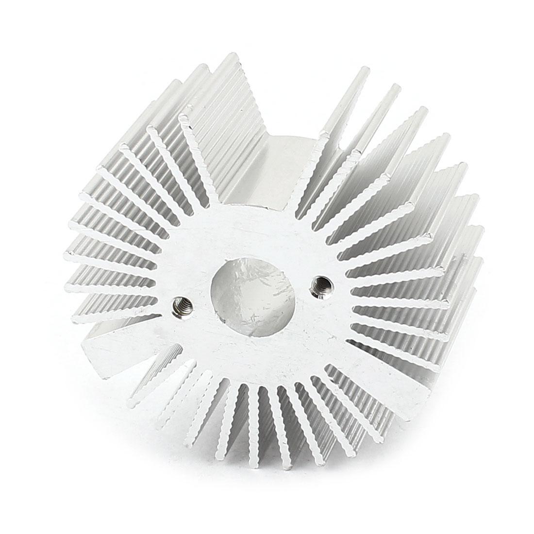 50mm x 22mm Sunflower 3W Power LED Light Heatsink Aluminium Cooling Fin