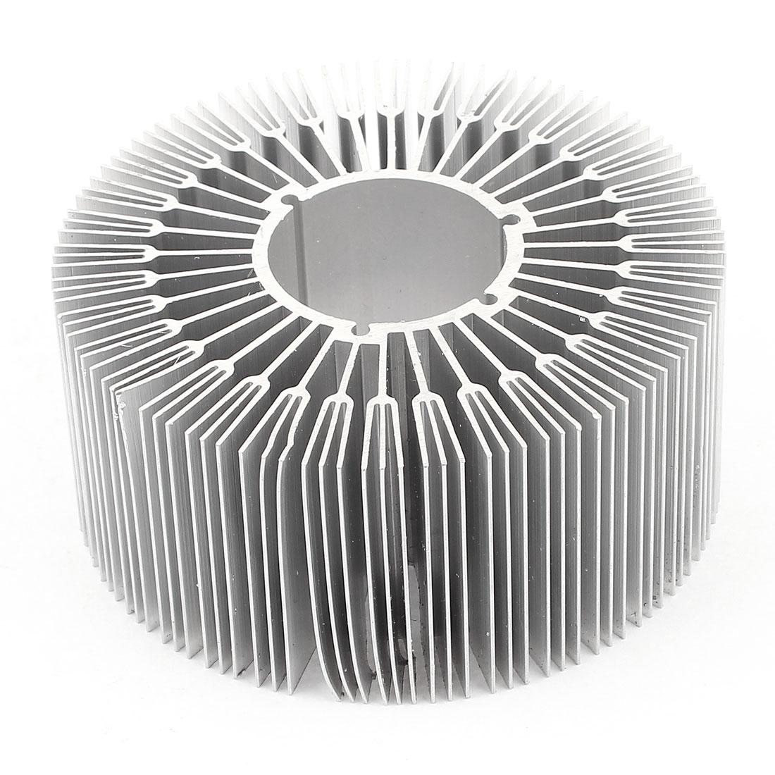 89mm x 40mm Cylinder 12W High Power LED Heatsink Aluminium Cooling Fin