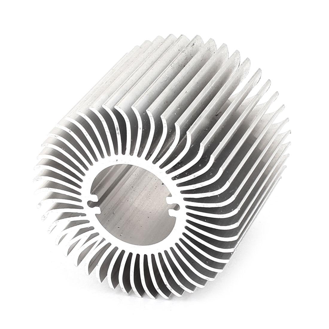 62mm x 50mm Cylinder 5W Power LED Heatsink Aluminium Cooling Fin