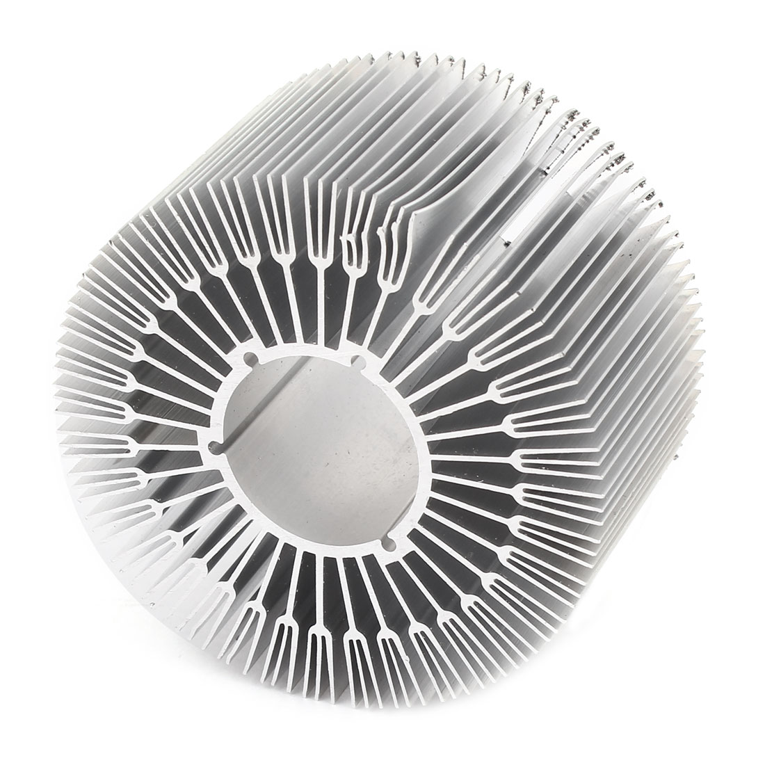 89mm x 50mm Cylinder 15W High Power LED Heatsink Aluminium Cooling Fin