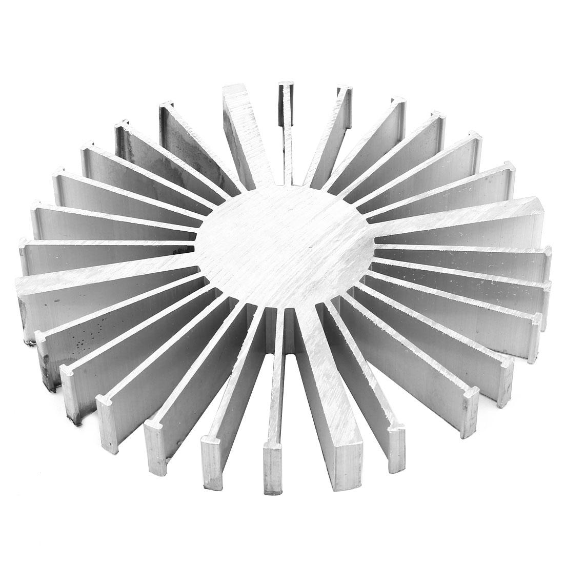 160mm x 20mm Cylinder 7x3W 20x1W LED Heatsink Aluminium Cooling Fin