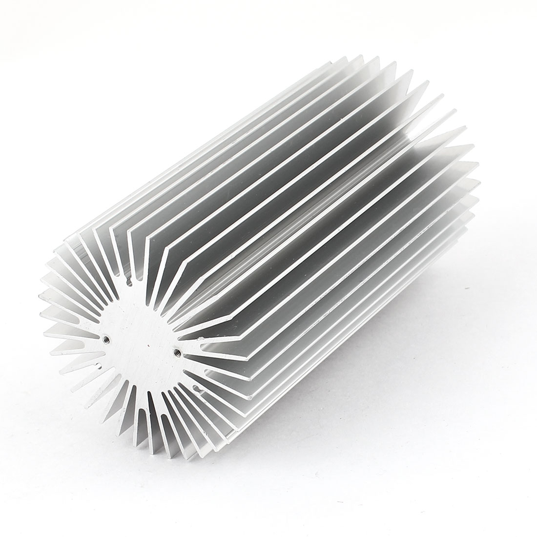 Silver White 55mm x 100mm 10W LED Light Heatsink Aluminium Cooling Fin