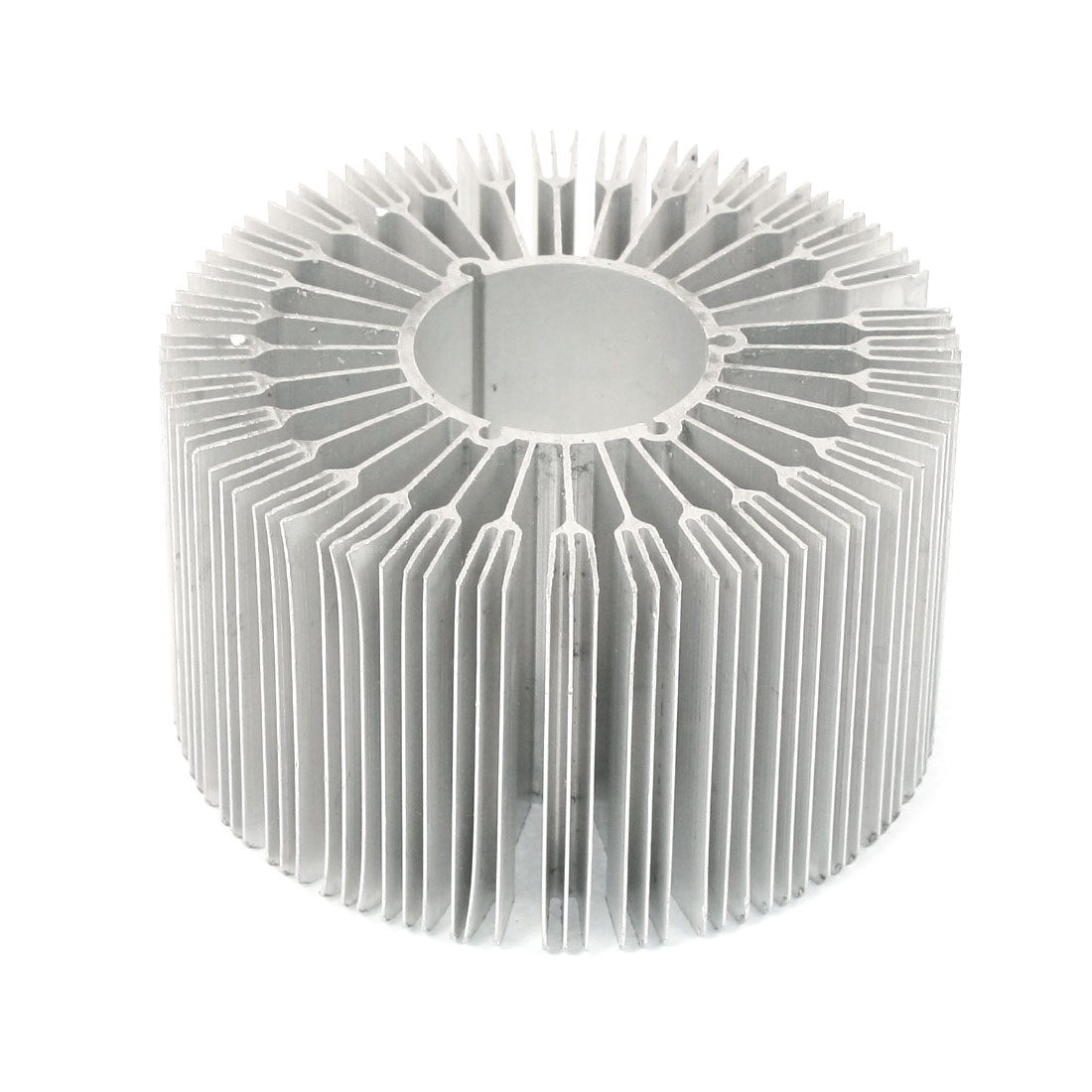 88mm x 50mm Cylinder 15W High Power LED Heatsink Aluminium Cooling Fin