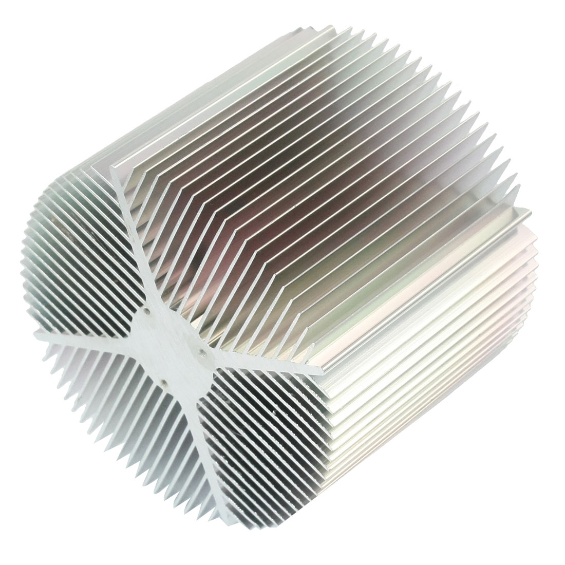 90mm x 75mm Cylinder 20W/30W High Power LED Heatsink Aluminium Cooling Fin