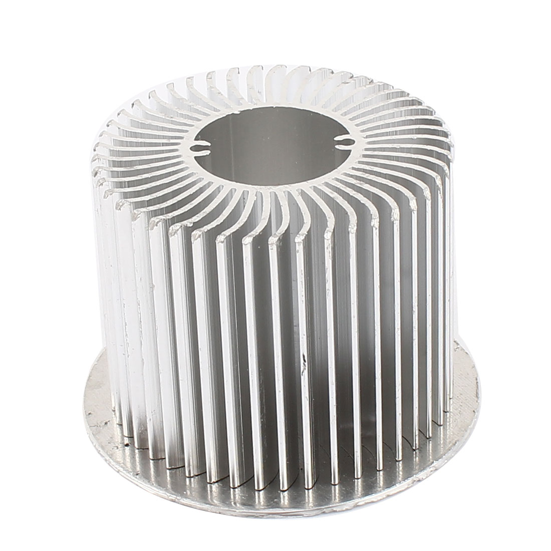 73mm x 50mm Cylinder 8W High Power LED Heatsink Aluminium Cooling Fin